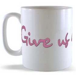 Give Us a Cwtch! - Love from Wales Billboard Mug