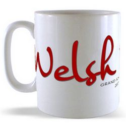 Welsh Rugby - Grand Slam Champions 2005 and 2008 Mugs