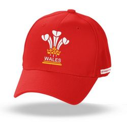 Adult 3 Feathers Wales Cap