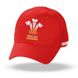 Kids 3 Feathers Wales Cap