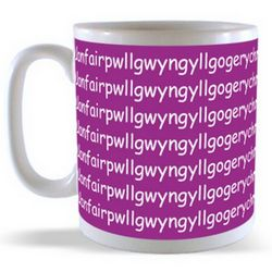 Llanfair PG - The longest Place name in Wales Mug