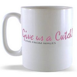 Give us a Cwtch - Love from Wales Mug