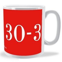 30-3 Wales V England 6 Nations Mug