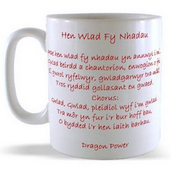Welsh National Anthem Mug