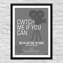 Cwtch Me if You Can Welsh Film Poster