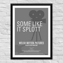 Some Like It Splott Welsh Film Poster