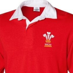3 Feathers Wales - Mens rugby shirt